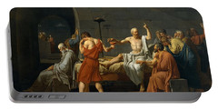 Death Of Socrates Portable Battery Charger