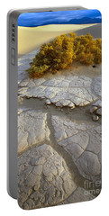 Death Valley Mudflat Portable Battery Charger