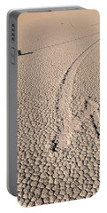Death Valley Racetrack California Portable Battery Charger