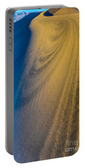 Death Valley Sunset Dune Wind Spiral Portable Battery Charger