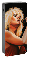Deborah Harry Or Blondie 2 Portable Battery Charger