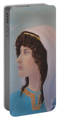 Deborah    Prophetess And Judge Portable Battery Charger