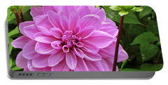 Decadent Dahlia   Portable Battery Charger by Elizabeth Dow