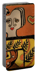 Deco Queen Of Hearts Portable Battery Charger