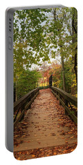 Decorate With Leaves - Holmdel Park Portable Battery Charger