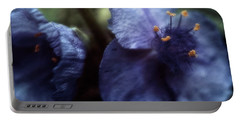 Portable Battery Charger featuring the photograph Deep Blue by Louise Kumpf