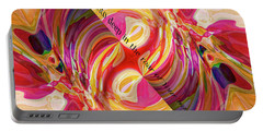 Portable Battery Charger featuring the digital art Deep Calls Unto Deep by Margie Chapman