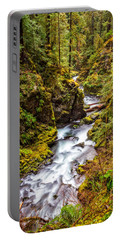 Deep In The Forest Portable Battery Charger