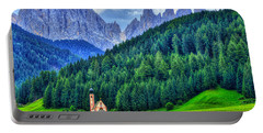 Deep In The Mountains Portable Battery Charger by Midori Chan