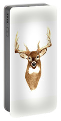 Deer - Front View Portable Battery Charger
