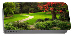 Deer In Lithia Park Portable Battery Charger