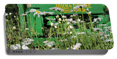 Deere 1 Portable Battery Charger by Lynn Sprowl