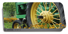 Deere 2 Portable Battery Charger by Lynn Sprowl