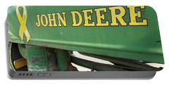 Deere Support Portable Battery Charger by Caryl J Bohn