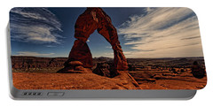 Delicate Arch Afternoon Glow Portable Battery Charger