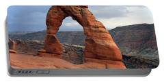 Delicate Arch - Arches National Park - Utah Portable Battery Charger by Aidan Moran