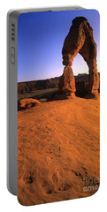 Delicate Arch Portable Battery Charger by Bob Christopher