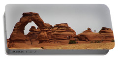 Delicate Arch Bryce Canyon Portable Battery Charger by Bruce Bley