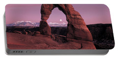 Delicate Arch Portable Battery Charger by Leland D Howard