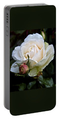 A Rose Of Delicate Beauty Portable Battery Charger
