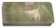 Delicate Blooms Portable Battery Charger
