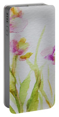 Delicate Blossoms Portable Battery Charger