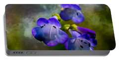 Delicate Garden Beauty Portable Battery Charger by Mick Anderson