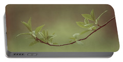 Delicate Leaves Portable Battery Charger