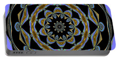 Portable Battery Charger featuring the digital art Delight by Oksana Semenchenko