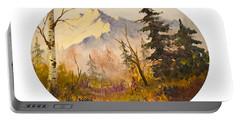 Denali Autumn Portable Battery Charger by Teresa Ascone