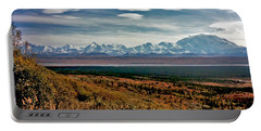 Portable Battery Charger featuring the photograph Denali Colors by Jeremy Rhoades