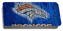 Denver Broncos Barn Door Portable Battery Charger