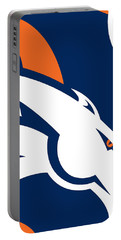 Denver Broncos Football Portable Battery Charger