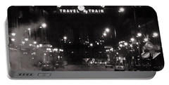 Denver Union Station Square Image Portable Battery Charger