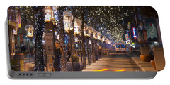 Denver's 16th Street Mall At Christmas Portable Battery Charger