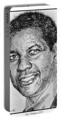 Denzel Washington In 2009 Portable Battery Charger