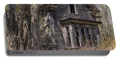 Portable Battery Charger featuring the photograph Derelict House by Marty Saccone