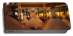 Dervishes Dancing At A Ceremony Portable Battery Charger