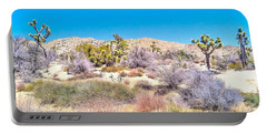 Desert Spring Portable Battery Charger by Angela J Wright