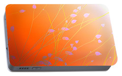 Portable Battery Charger featuring the photograph Desert Flowers by Holly Kempe