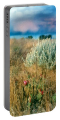 Desert Flowers Portable Battery Charger