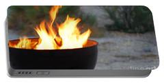 Desert Heat Portable Battery Charger