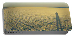 Portable Battery Charger featuring the photograph Desert Like by David Nicholls