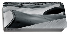 Desert Night Death Valley By Diana Sainz Portable Battery Charger