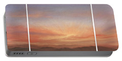 Desert Sky Triptych Portable Battery Charger