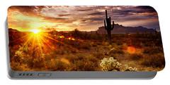 Desert Sunshine  Portable Battery Charger