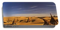 Desert Village Portable Battery Charger