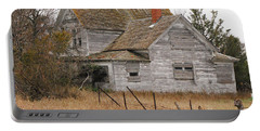 Deserted House Portable Battery Charger by Mary Carol Story