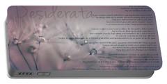 Desiderata - Dandelion Tears Portable Battery Charger