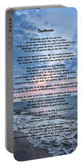 Desiderata Wisdom Portable Battery Charger